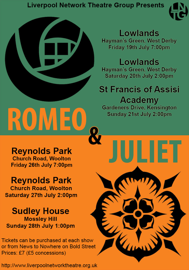 Romeo & Juliet by Liverpool Network Theatre Group